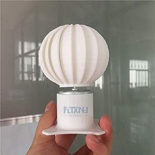 NL Mini modelo de turbina de viento con generador de viento vertical de luz LED (5V, 10W)