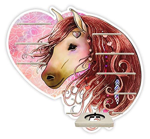 Farbklecks Collection Musikboxregal Liebes Pferd