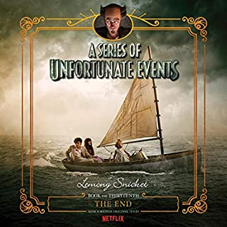 The End     A Series of Unfortunate Events #13              Auteur(s):                                                                                                                                 Lemony Snicket                               Narrateur(s):                                                                                                                                 Tim Curry                      Durée: 5 h et 52 min     6 évaluations     Au global 4,5
