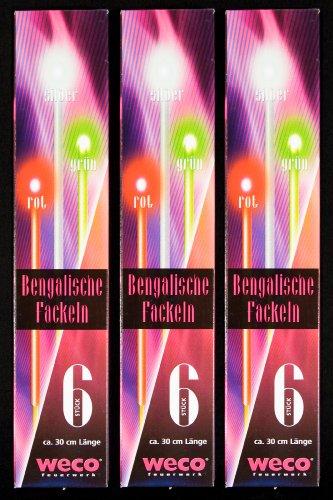 18 Bengalische Fackeln 30cm