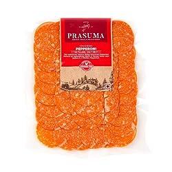 Prasuma Chicken Pepperoni Pouch,  100 g