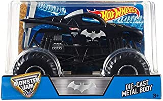 Hot Wheels Monster Jam Batman Die-Cast Vehicle, 1:24 Scale