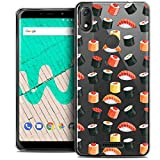 Ultra-Slim Case for 6 Inch Wiko View Max, Foodie Sushi