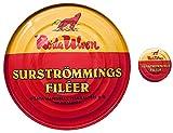 シュールストレミング フィレ 300g 三幸貿易オリジナル缶バッジセット