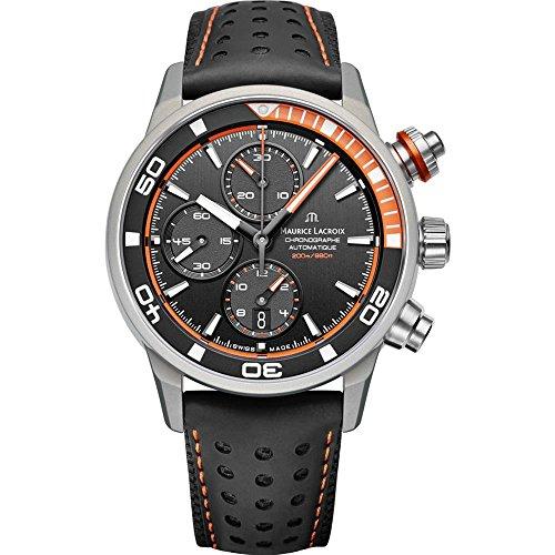 Maurice Lacroix Pontos S Extreme Herren-Armbanduhr 43mm PT6028-ALB31-331-1