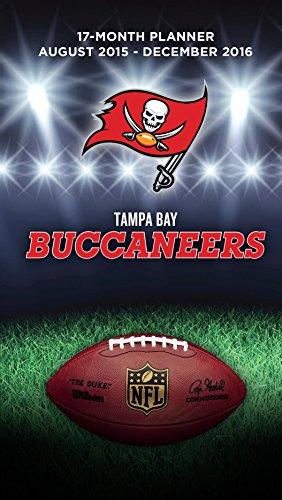 Turner Tampa Bay Buccaneers Kalender für 17 Monate, August 2015 - Dezember 2016, 8,9 x 12,7 cm (8890561)