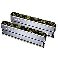 G.SKILL 16GB (2 x 8GB) Sniper X Series DDR4 PC4-21300 2666MHz Desktop Memory Model F4-2666C19D-16GSXK