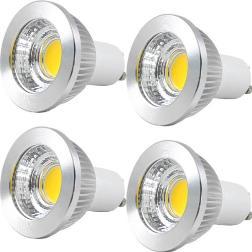 MENGS 4er Pack LED GU10 Lampe 5W LED Reflektorlampen ersetzt 40W Halogenlampe 2700K Warmweiß LED Leuchtmittel 120° Abstrahlwinkel Spotlight AC 85-265V 600lm LED Glühbirne