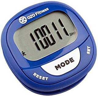 OZO Fitness SC2 Digital Pedometer | Best Pedometer for Walking | Accurately Track Steps..
