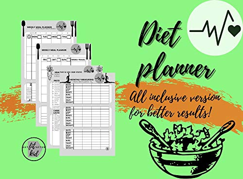 Diet planner All inclusive version for better results!: Simple easy meal and...