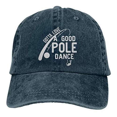 Jopath Gotta Love Pole Dance - Gorra de béisbol para pesca