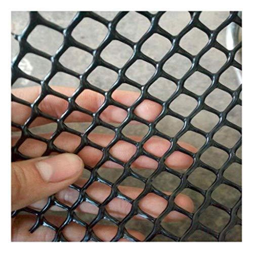 Plastic Barrier Netting,black Poultry Net Chicken Net Mat Hard Plastic Filter Trellis Nets Hex Garden Fence Net Flexible Polyethylene Plastic Protective Diamond Pond Plant Crop Soil Protection Nets