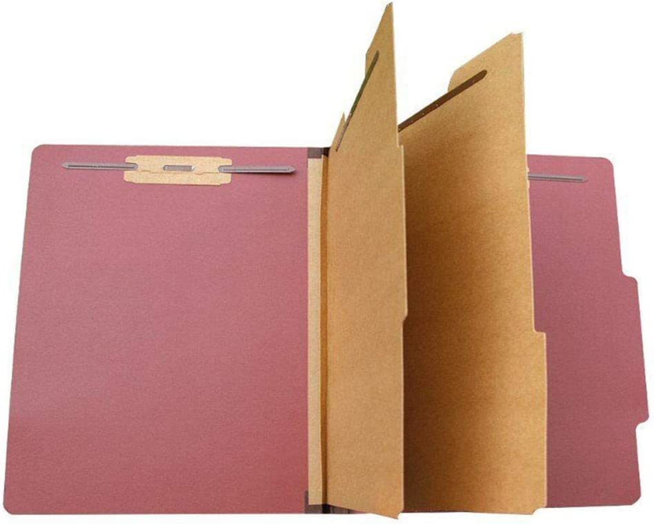 WOLDce Special sale item Classification Folders with 2 Divider Prongs Durable Popular standard De