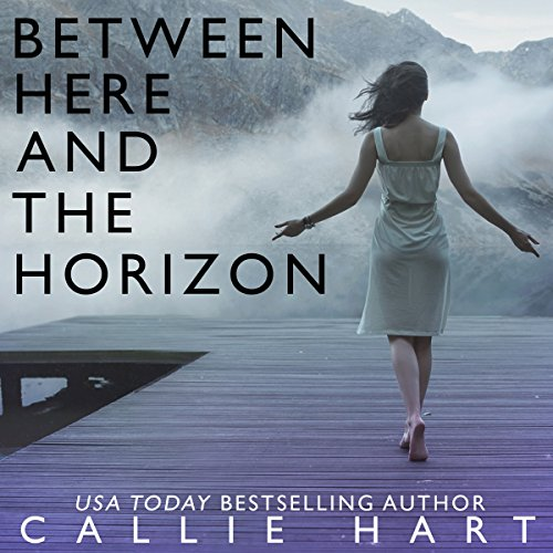 Between Here and the Horizon audiobook cover art