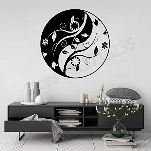 BailongXiao Rahmenlos-Buddhistischer Yin Yang Blume religiöser Wandmalerei-Künstler