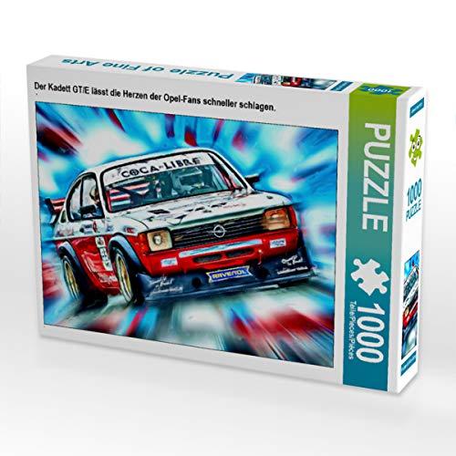 CALVENDO Puzzle Der Kadett GT/E lässt die Herzen der Opel-Fans schneller Schlagen. 1000 Teile Lege-Größe 64 x 48 cm Foto-Puzzle Bild von DeVerviers