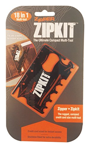 Summit Zipper Zipkit Multi Function Compact Carte de Crédit Multi Tool Ware Cadeau
