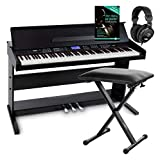 FunKey DP-88 II Digitalpiano Set (88 anschlagsdynamische Tasten, 360 Sounds, 160...