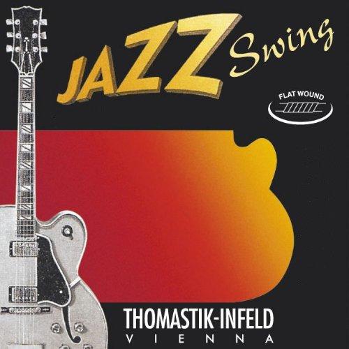 Thomastik cuerda Mi .044 níquel, flatwound JS44 para Guitarra Eléctrica Jazz Swing jeugo JS110
