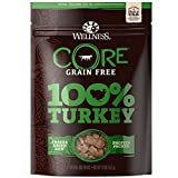 Wellness Natural Pet Food Core Grain Free 100-Percent Turkey Freeze Dried Dog Treats, 2 Oz