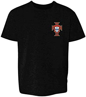 Portugal Soccer Retro National Team Football Toddler Kids Girl Boy T-Shirt