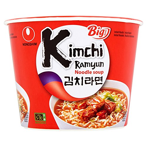 Nong Shim Instant Nudeln, Big Bowl KimChi, 1792 gramm