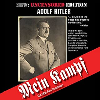 Mein Kampf: The Ford Translation audiobook cover art
