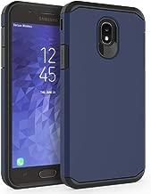Case for Samsung Galaxy J7 2018 / J7 V 2nd Gen / J7V 2018 / J7 Refine / J7 Star / J7 Aero / J7 Top / J7 Crown / J7 Aura / J7 Eon, SYONER [Armor] Shockproof Protective Phone Case [Navy Blue]