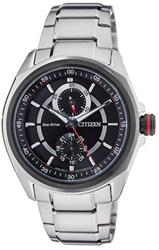 Citizen Mens ECO-DRIVE Analoge Jurk Solar Horloge BU3004-54E