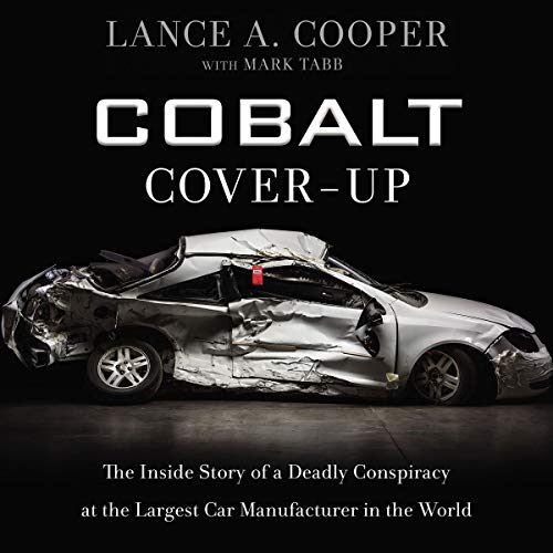 Cobalt Cover-Up audiobook cover art