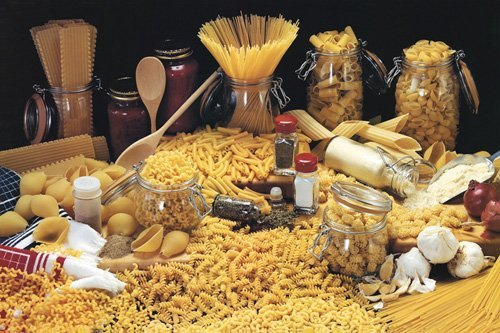Pasta - Italian Way - H - MAXI LAMINATED/ENCAPSULATED POSTER - Measures approx. 36 x 24 inches (91.5 x 61cm)