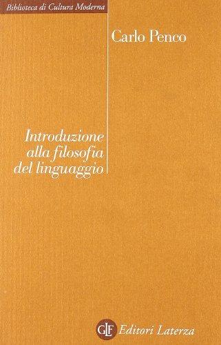 Introduzione alla filosofia del linguaggio