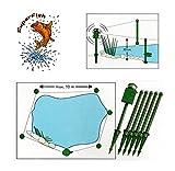 SuperFish Teichalarm Fischschutz Reiherschreck Alarmanlage Camping Zelt Pool