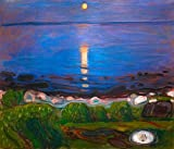 Art-Galerie Digitaldruck/Poster Edvard Munch - Sommernacht