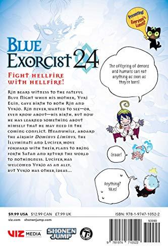 Blue Exorcist, Vol. 24 (24)