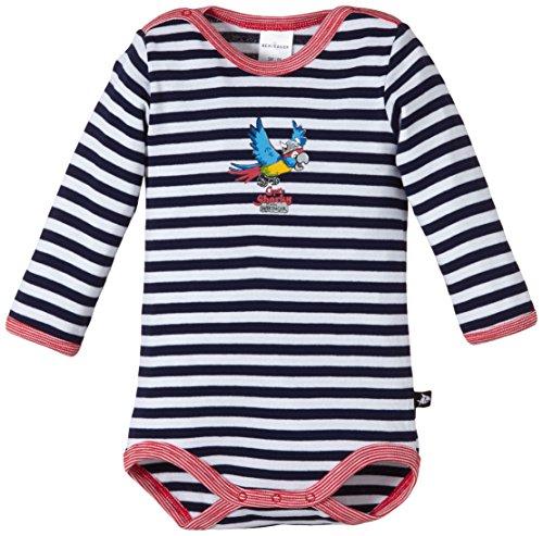 Schiesser Baby-Body 1/1145902 - Body - Bébé garçon, Bleu (Dunkelblau 803), 6 mois