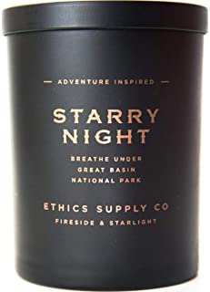 Ethics Supply Co. Organic Scented Candle | Starry Night