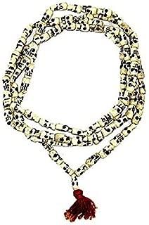 Ankita Gemstones Goddess Kali Mala, Carved Beads Mala Rosarie Indian Goddess Kali Prayer Mala