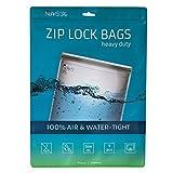 Noaks Bag Sacca Impermeabile, Taglia XL, 5 Pezzi ZIP Sacchet