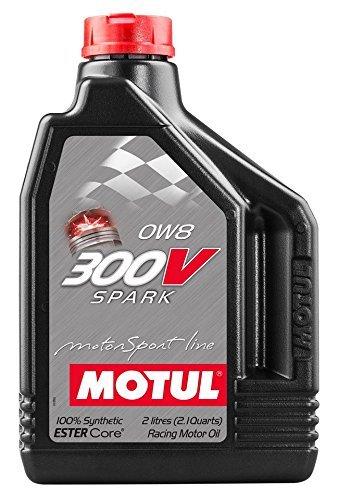 MOTUL(モチュール) 300V SPARK 0W8 2L 100%化学合成オイル [正規品] 11107421