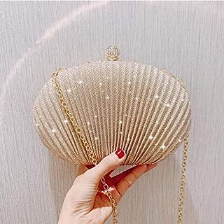 iBag's Oval Shape Clutch Bag Luxury Elegant Women Handbags Wedding Banquet Party Chain Shoulder Bag Female Purse Bolsa Mujer ZD1291