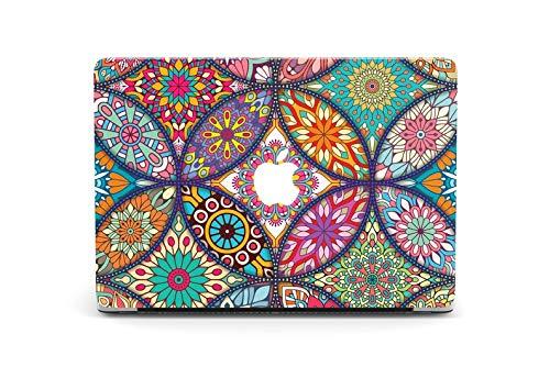 Colorful Mandala MacBook Pro 13 2019 Case Flowers Air 13 2018 Case MacBook Pro 15 Case Painting Laptop Case MacBook 11 12 Mandala Case