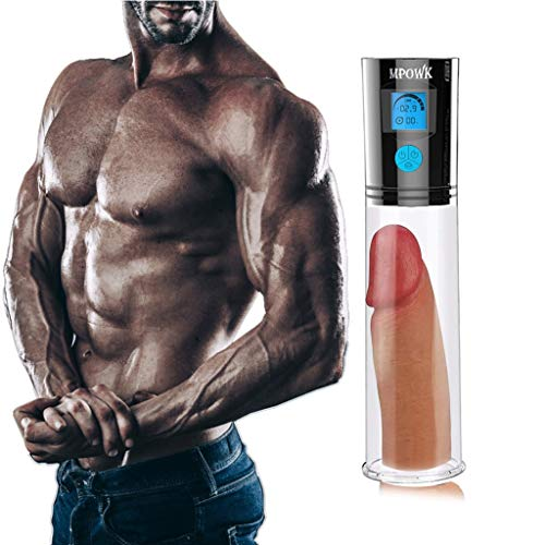 For Sale! Men's Electric Training Penisgrowth for Men & Penisgrowth Vacuum Pump & Penisexrender Stre...