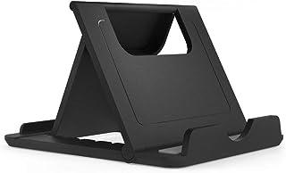 DFV mobile - Holder Desk Adjustable Multi-angle Folding Desktop Stand for Smartphone and Tablet for BBK Vivo U3 (2019) - B...