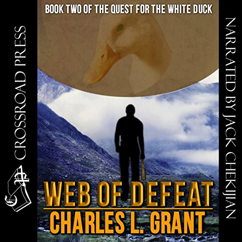 Web of Defeat audiobook cover art