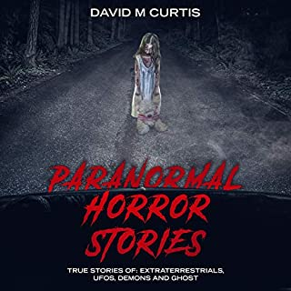 Paranormal Horror Stories audiobook cover art