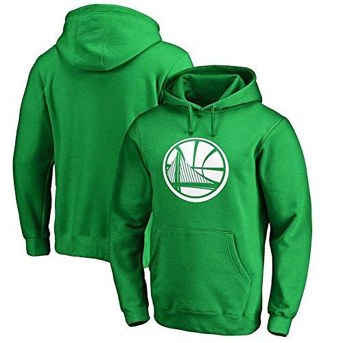 Li Long Sudadera con Capucha de la NBA Golden State Warriors Sudadera for Hombre Sudadera con Capucha Deportiva Carta Casual Moda Chaqueta Juvenil Camiseta (Color : Green, Size : XXL)