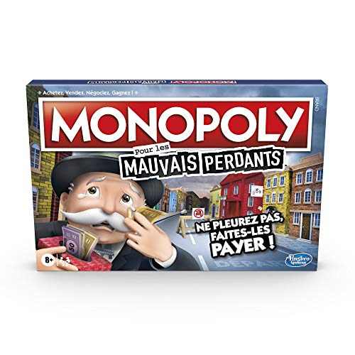 Monopoly Mauvais Perdants - Jeu de societe - Jeu de plateau