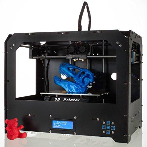 Imprimante 3D de bureau CTC Bizer Pro Duplex Extruder révisée en deuxième génération haute qualité haute précision Mk8
