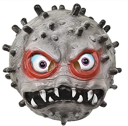 Milu deer Máscara Virus Accesorios Propaganda Antiepidémica, Máscara Disfraces Halloween, Accesorios para La Cabeza Cosplay para Fiesta Halloween (Color : Grey, Size : One Size)